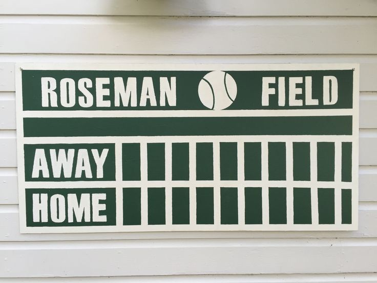 Meer dan 1000 idee n over honkbal scorebord op pinterest for Baseball scoreboard wall mural
