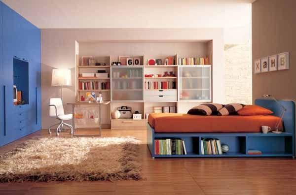 modern teenage bedroom furniture and rugs