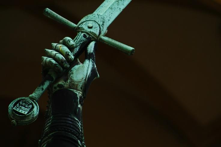 Count Eberhard Sword, Altes Schloss Stuttgart, Germany