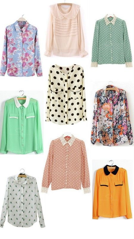Pretty Spring Blouses for $13 or Less