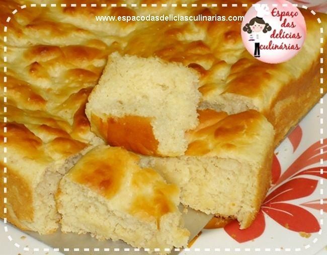Pão de leite de assadeira, massa sem sovar (passo a passo com fotos) - Espaço das delícias culinárias