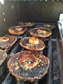 A Healthy Makeover: Grilled Portabella Mushrooms
