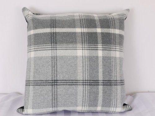Highland Mist Tartan 16in x 16in Cushion Cover in Grey , http://www.amazon.co.uk/dp/B00F42MVLK/ref=cm_sw_r_pi_dp_-v6Nsb0D8S25H