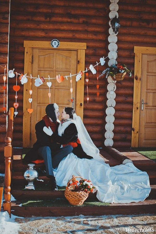 Winter wedding Russian style. #Winter_wedding #russian_wedding #wedding_ideas #bride