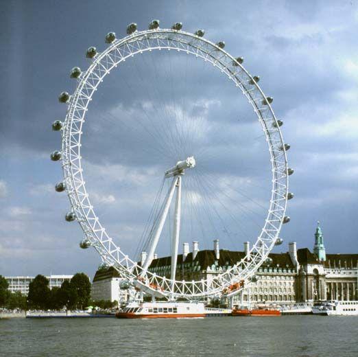London Eye - London, England