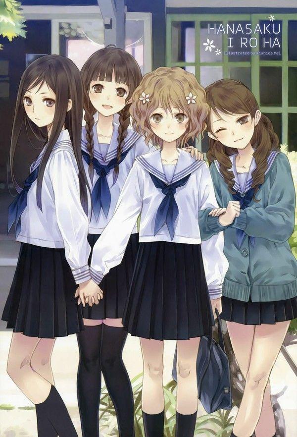 126 best Best frends images on Pinterest | Anime art, Anime ...