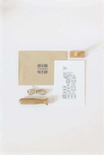 "Art – Geometric Bird Print Eco Postcard ""Peacock... – a unique product by Buntmal on DaWanda"