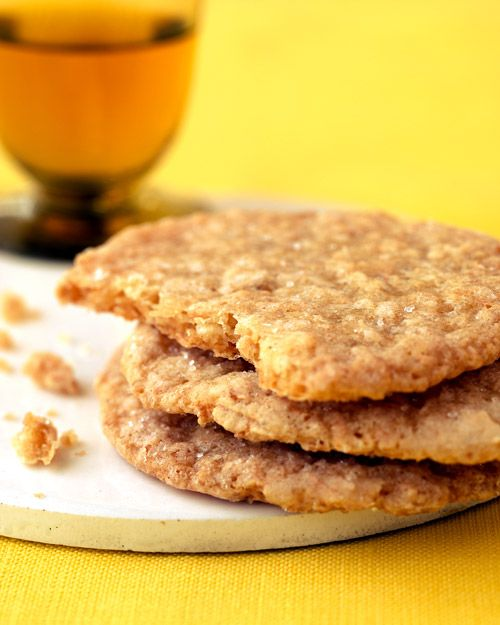 Coconut Biscuits. You know, I'm not a HUGE fan of coconut, but Martha ...