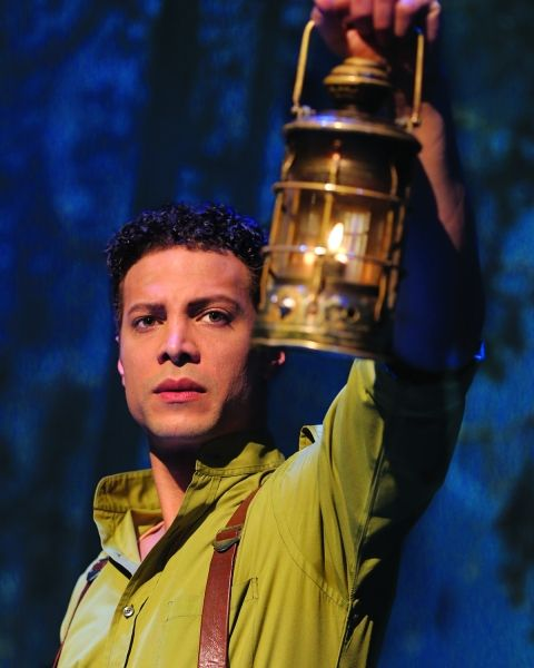 Justin Guarini as Fiyero (Current).  I saw him when I went to NYC and he was amazing