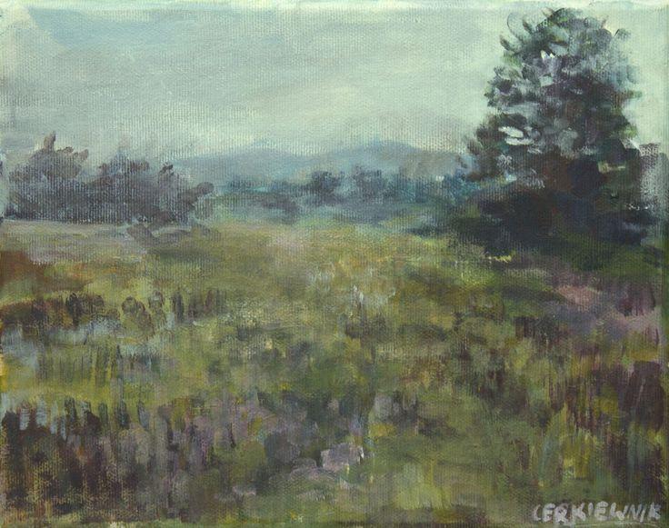Miniature landscape, Jagoda Cerkiewnik on ArtStation at https://www.artstation.com/artwork/4kXm8