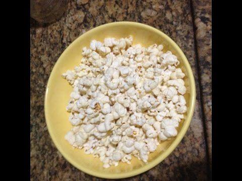 Como fazer pipoca com milho normal no microondas