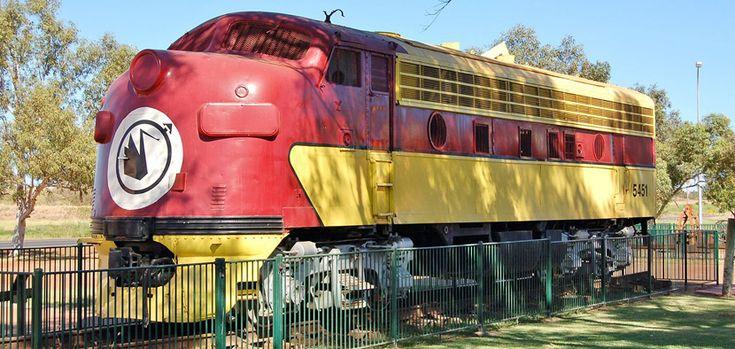 Un museo de trenes y minería en Port Hedland…