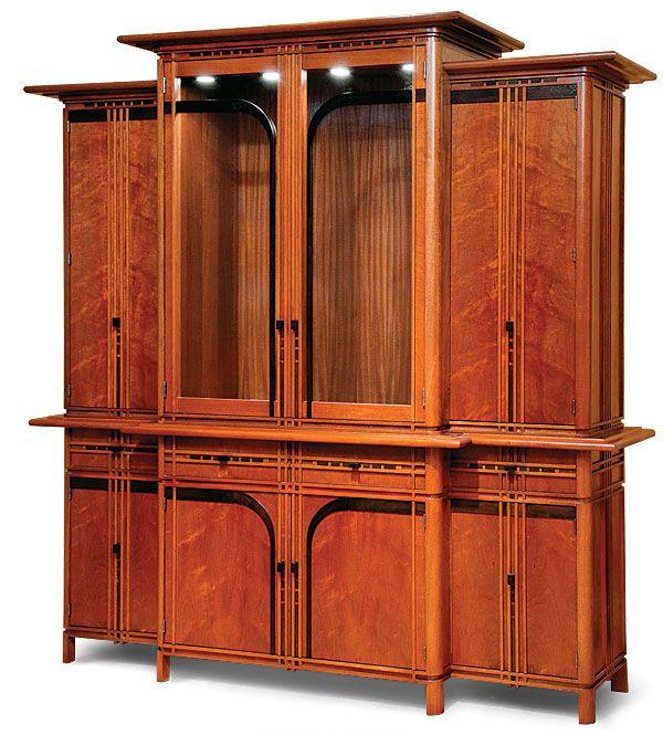Art Deco China Cabinet