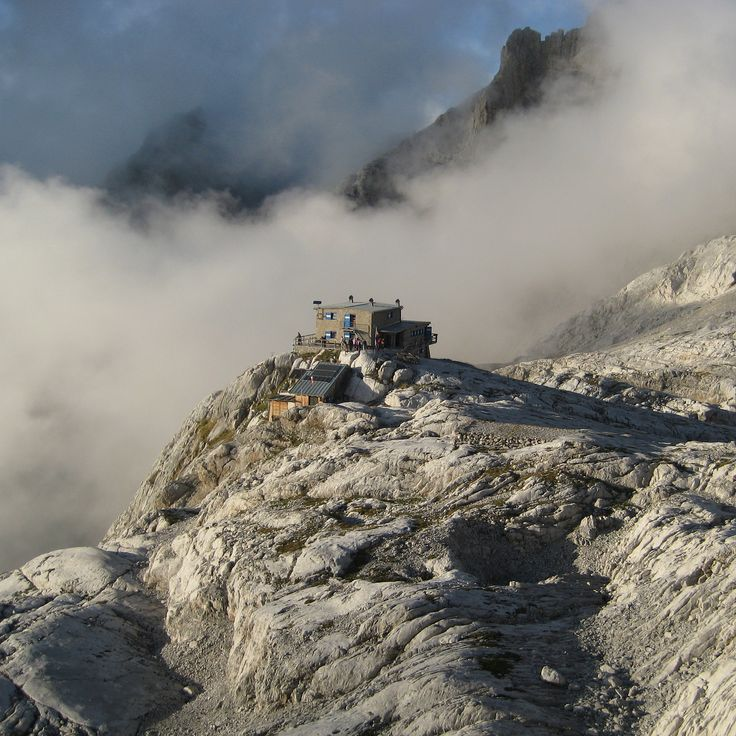 Beautiful #MountainHut at magical spot in the #BrentaDolomites check it out at www.holidaysdolomites.com