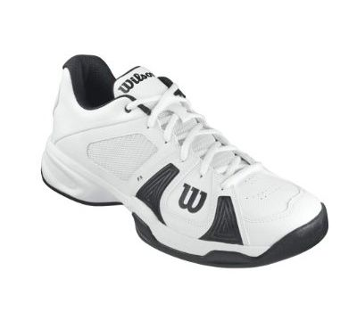 #Wilson RUSH OPEN WHITE/WHITE/BLACK, #Scarpe da #tennis uomo