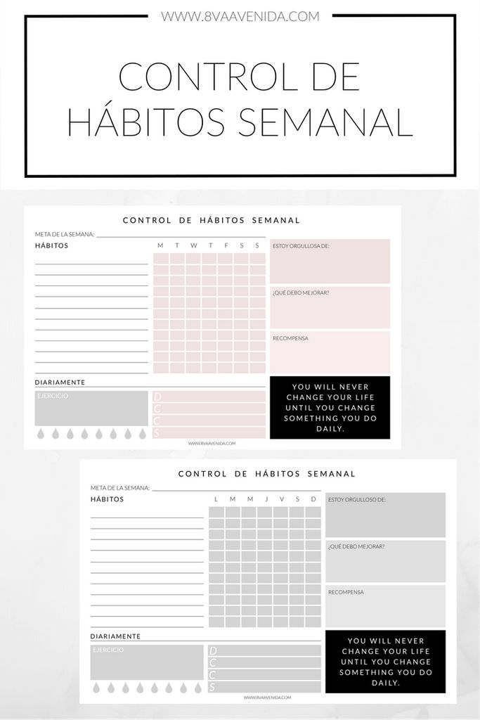 Printable Planners | Planeadores Imprimibles