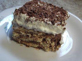 Olga's cuisine...και καλή σας όρεξη!!!: Μπισκοτένια τούρτα