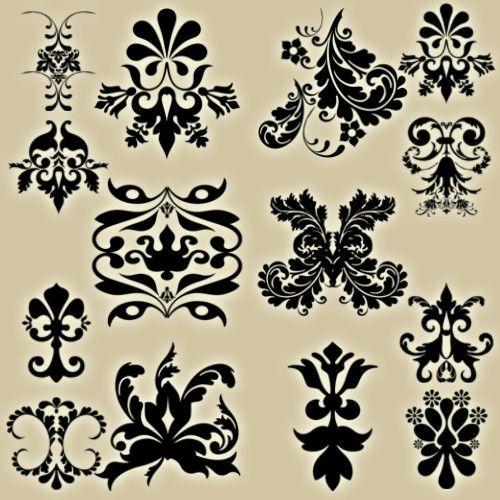 different styles of my fav pattern