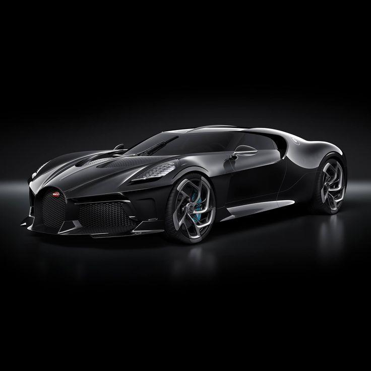 """Bugatti has unveiled a new single piece, the """"La Voiture Noire"""", which … – blog.car.de"""
