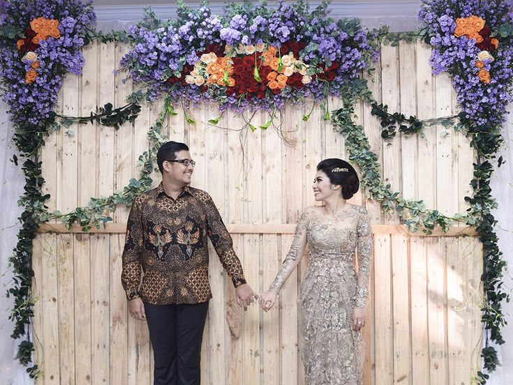 Traditional Rustic Themed Engagement in Medan - 2a