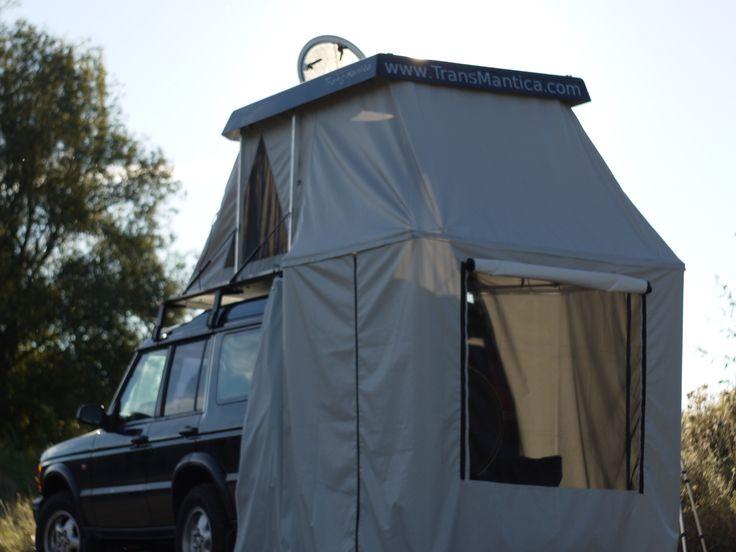 Dachzelt MRT 1 beim Campen in Aachen
