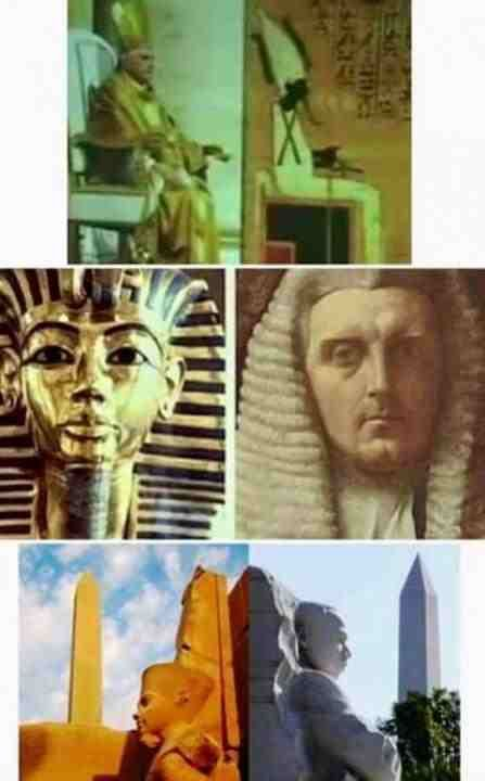 Ancient Egypt, the Dark Occult Priests, and the Religious imagery that has continually been woven into our history.