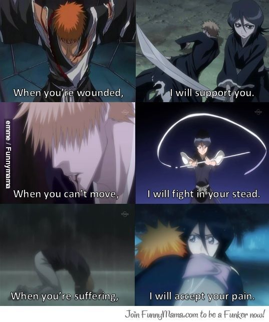 25+ Best Bleach Quotes On Pinterest