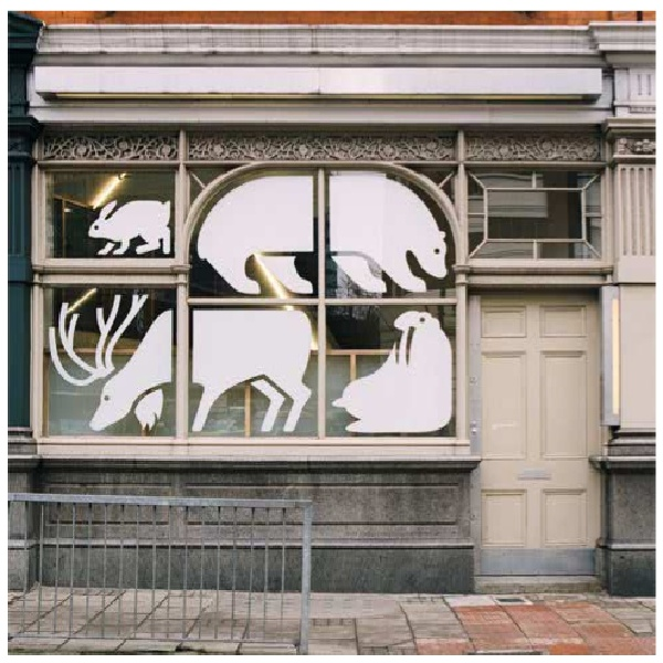 interesting use of art to fill the window - I'm intrigued by thisvb