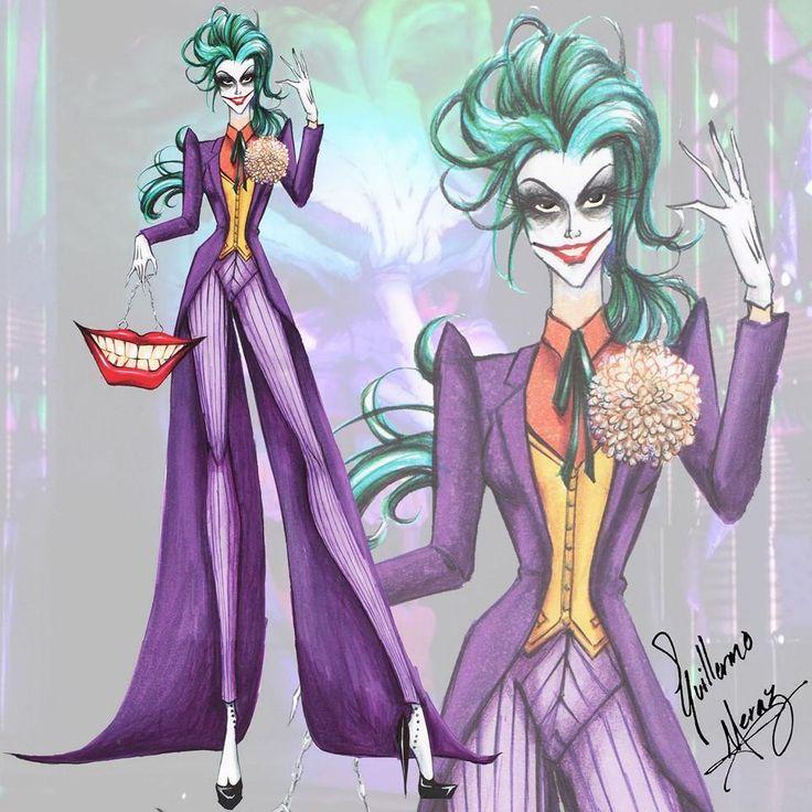 "Batman Villains Fashion ""Joker"""