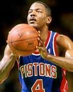 My all time favorite Detroit Piston. Joe Dumars