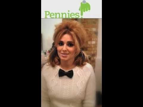 Cheryl Cole talks about Pennies, the electronic charity box