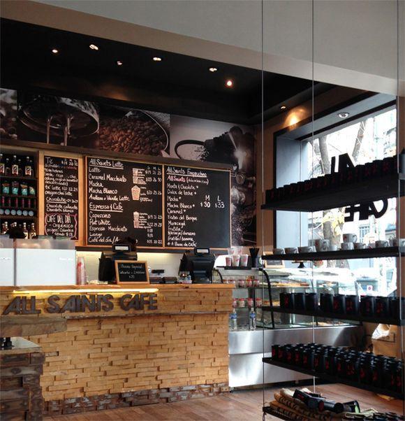 17 mejores ideas sobre dise o de cafeter a en pinterest - Decoracion de cocheras modernas ...