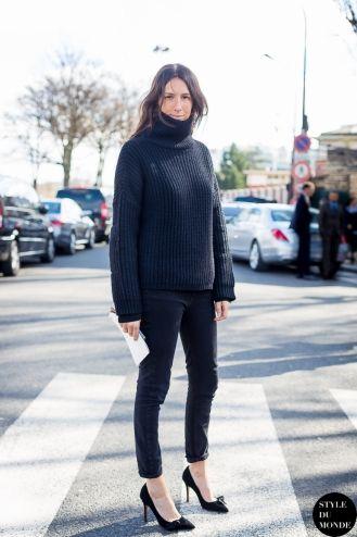 Paris Fashion Week FW 2014 Street Style: Geraldine Saglio