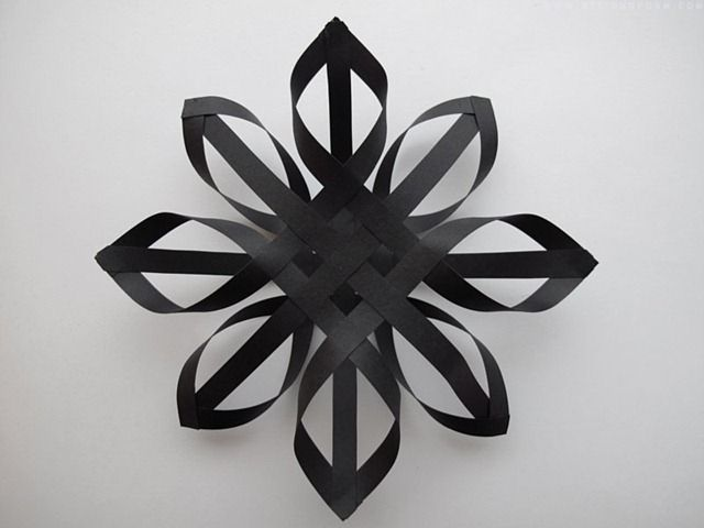 DIY a paper christmas star