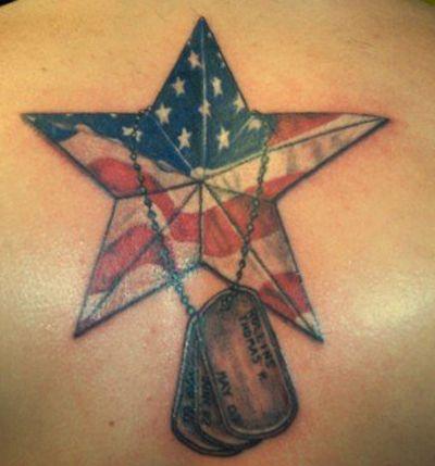 Army Dog Tag Tattoos | Family Tradition – Military Tattoos - Military.com