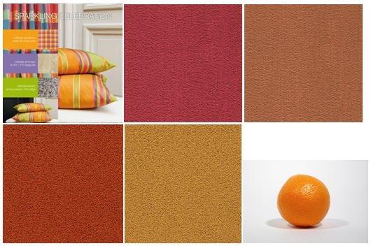 Appeltjes van oranje, ook in onze tapijtcollectie www.lifestye-interior.nl