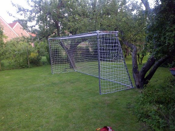 Soccer Goal Made With Kee Klamp Sports Pinterest