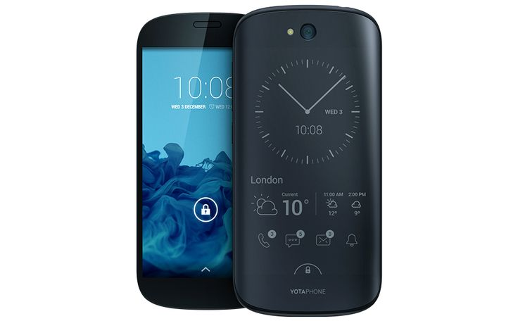 YotaPhone 2 Announced, Features Dual Displays, One E-Paper and One Full Color