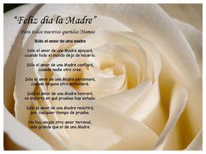 poemas para el dia de las madres | poema a la madre imagenes del dia delas madres poesia para el dia de ...