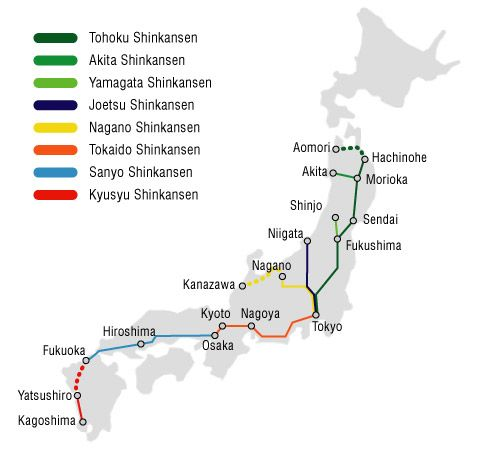 Best Speed Of Bullet Train Ideas On Pinterest Train Steam - Japan map rail