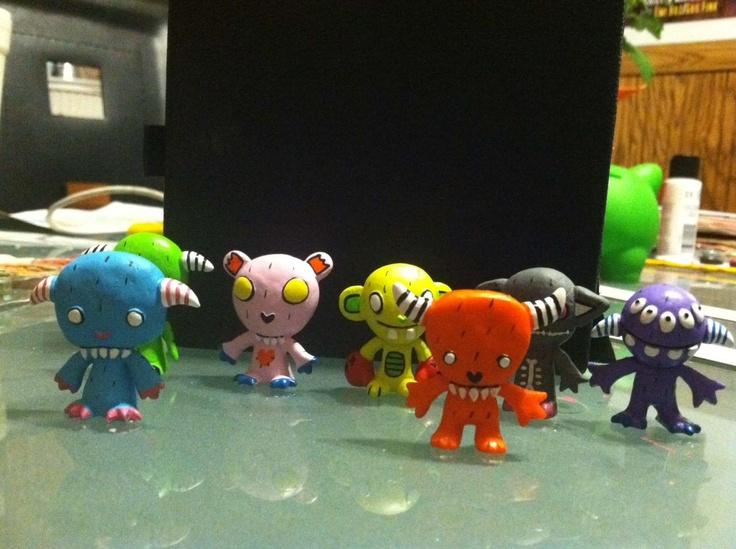 Gooli Monsters Capsule toys will be hitting stores soon!Capsule Toys, Monsters Capsule, Goolies Monsters