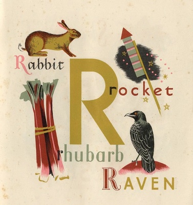 Rad vintage Puffin Book illustrations by Grace Gabler, ca. 1945
