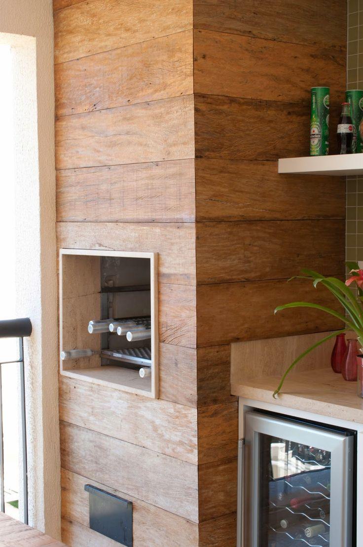 Para quem tem um apartamento com varanda vai gostar dessa sugestão.  Feita sob medida pela Espaço Pleno - Móveis Planejados .