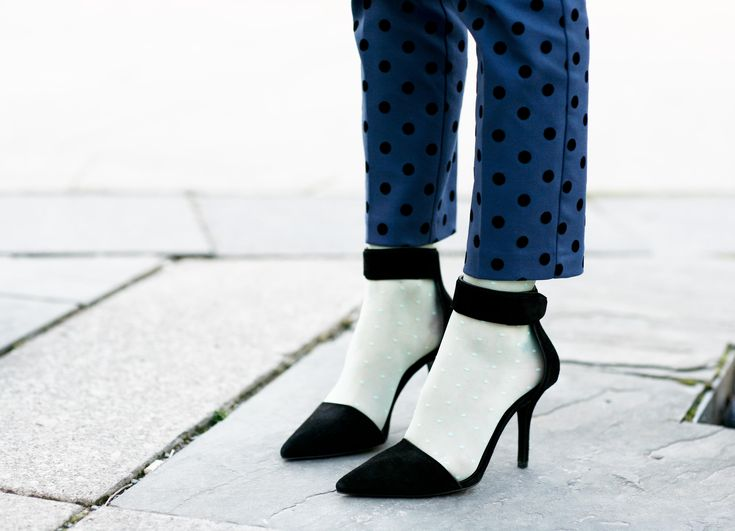 Street Style— Dots on Dots