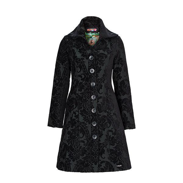 #Desigual coat representing the style of Dark romanc. #DesignerOutletParndorf