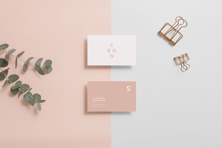 SBON - 'your timeless staples', branding for women's clothing company by Lidia Mínguez See more: http://bit.ly/******/   More news: Like Mindsparkle Mag on Facebook