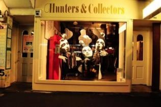 Hunt through new and vintage wears at Hunters and Collectors in Wellington, New Zealand.