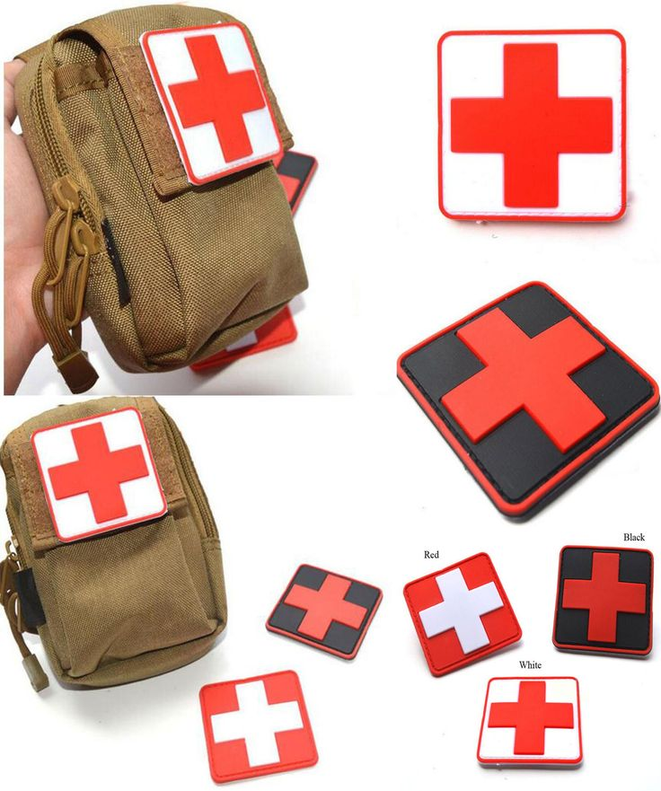 [Visit to Buy] 2016 Outdoor Products PVC Sticker Armband The Medical Rescue Of The Red Cross Chapter Morale Military Sticker Badges #Advertisement