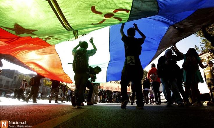 Marcha-carnaval en defensa del agua