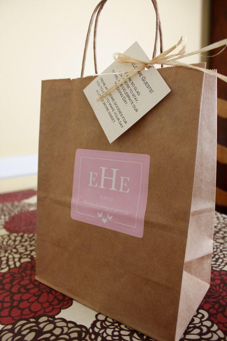 Best 25+ Hotel welcome bags ideas on Pinterest | Wedding hotel ...